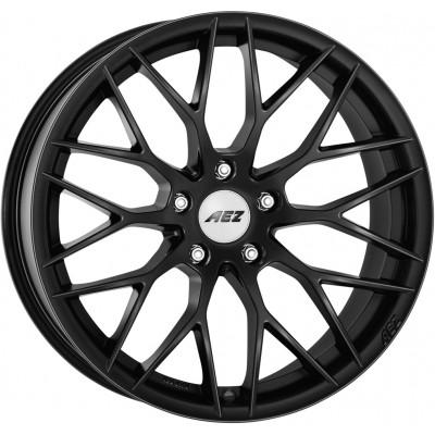 AEZ Antigua black matt 9.5x20 ET40 - LK5/120 ML72.6 4026569117580