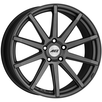 AEZ Straight graphite matt 7.5x17 ET35 - LK5/120 ML72. 4026569123390