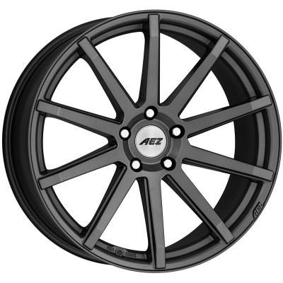 AEZ Straight graphite matt 8.5x19 ET25 - LK5/112 ML70. 4026569123550