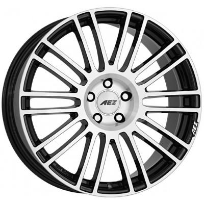 AEZ Strike black polished 8x18 ET40 - LK5/112 ML70.1 4026569123987