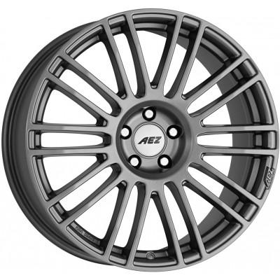 AEZ Strike graphite matt 8.5x19 ET28 - LK5/114.3 ML71. 4026569125264