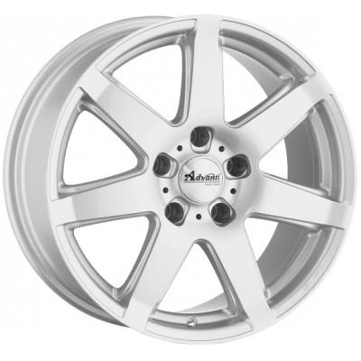 Advanti Raci Flake silver 6.5x15 ET38 - LK5/110 ML65.1 4250390900596