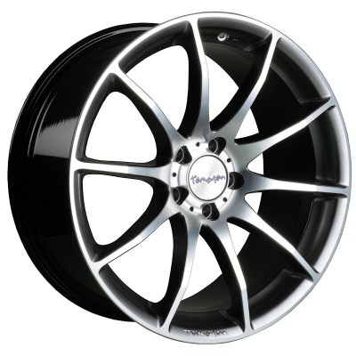 Tomason TN1 hyperblack polished 8.5x18 ET30 - LK5/112 ML72 4250683500038