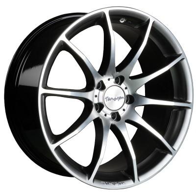 Tomason TN1 hyperblack polished 8.5x18 ET40 - LK5/108 ML72 4250683500069