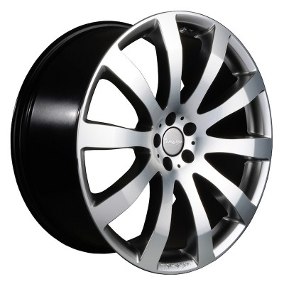 Tomason TN4 hyperblack polished 8.5x18 ET35 - LK5/120 ML72 4250683500755