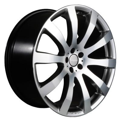 Tomason TN4 hyperblack polished 8.5x18 ET40 - LK5/112 ML72 4250683500762