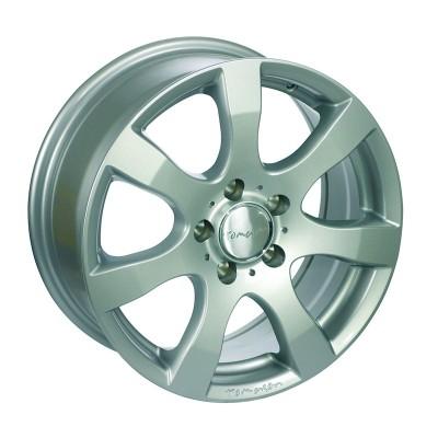 Tomason TN3F silver painted 6.5x16 ET50 - LK5/120 ML65.1 4250683502414