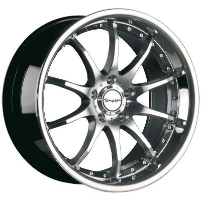 Tomason TN8 hyperblack diamond polished with steel lip 9.5 4250683504432
