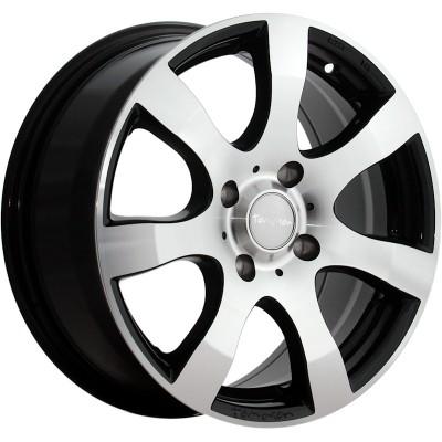 Tomason TN3F black polished 6.5x16 ET50 - LK5/120 ML65.1 4250683505156