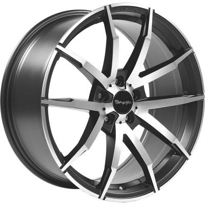Tomason TN10 gunmetal polished 8.5x18 ET40 - LK5/108 ML72. 4250683505675